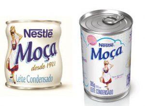 A importância da embalagem nas vendas do produto - leite moça