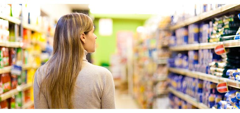 ponto de venda supermercado