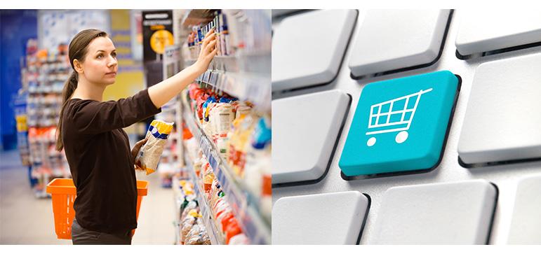 ponto de venda ou internet