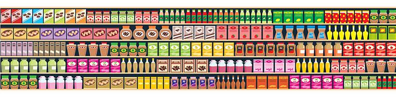 A importância da embalagem nas vendas do produto - gondola